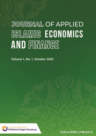 Journal of Applied Islamic Economics and Finance